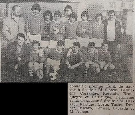 Cadets foot 1973
