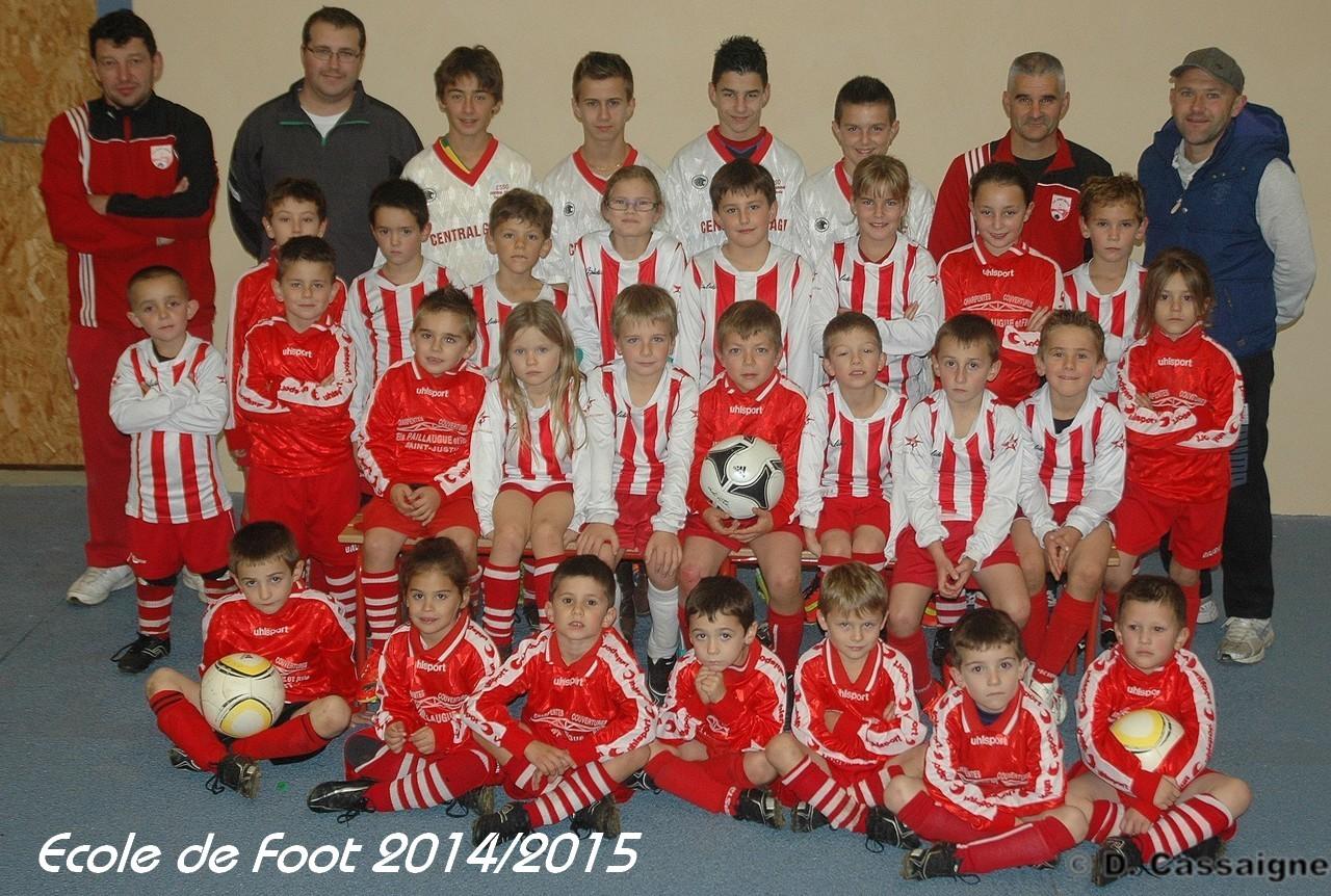 Ecole de Foot 2014-2015