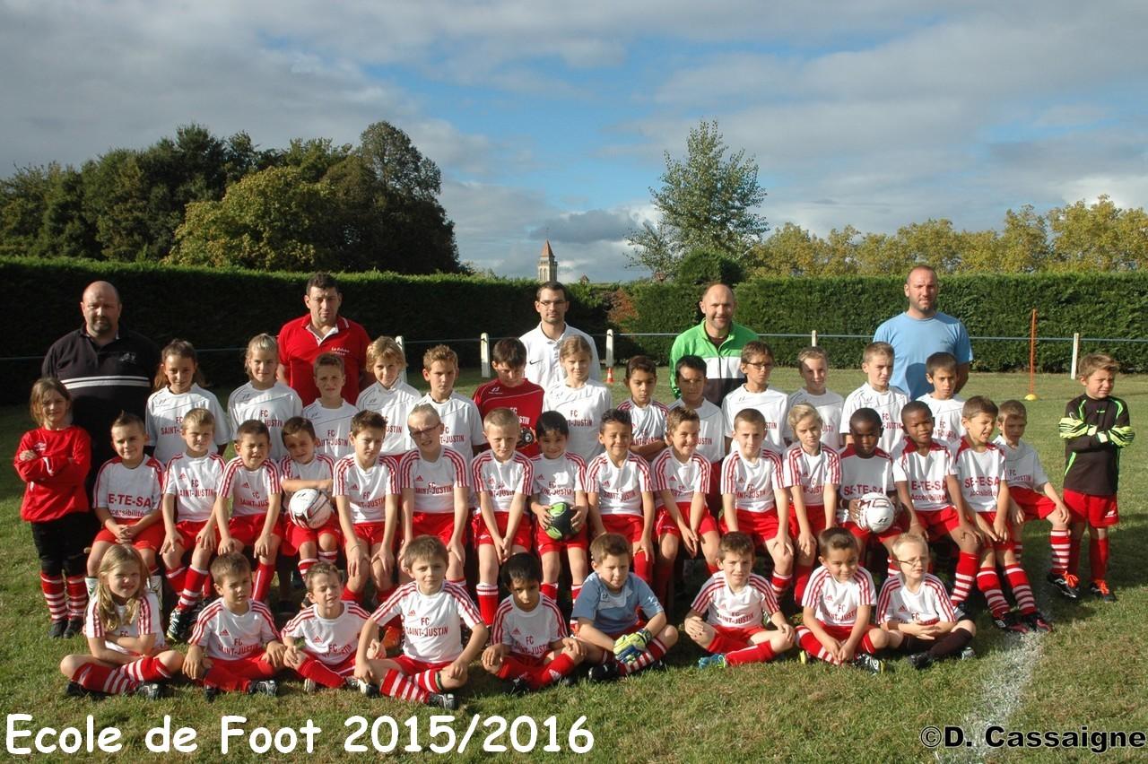 Ecole de Foot 2015/2016