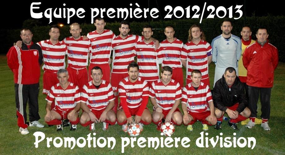 Equipe 1 2012-2013