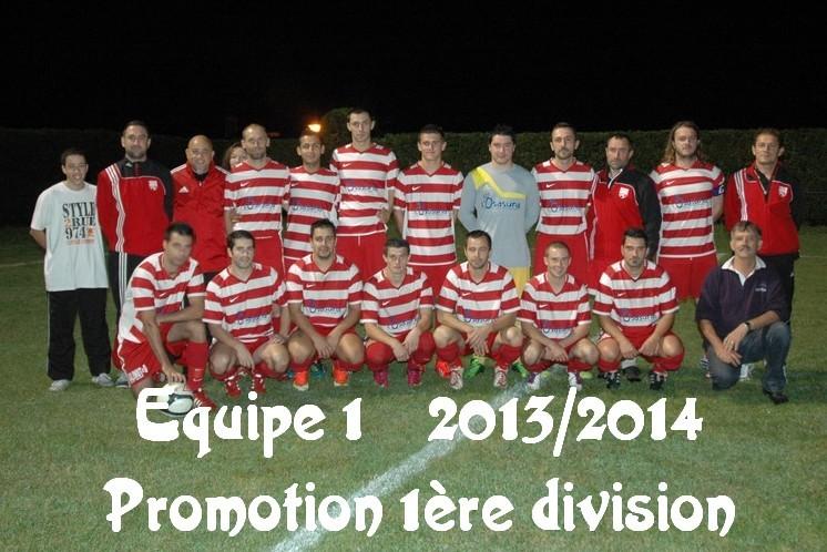 Equipe 1 2013-2014