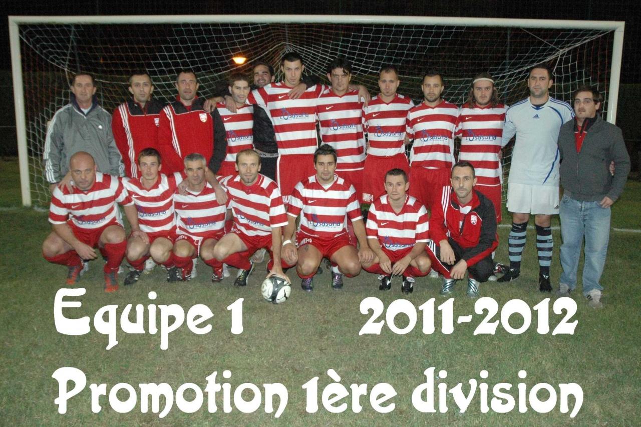 Equipe 1 2011/2012