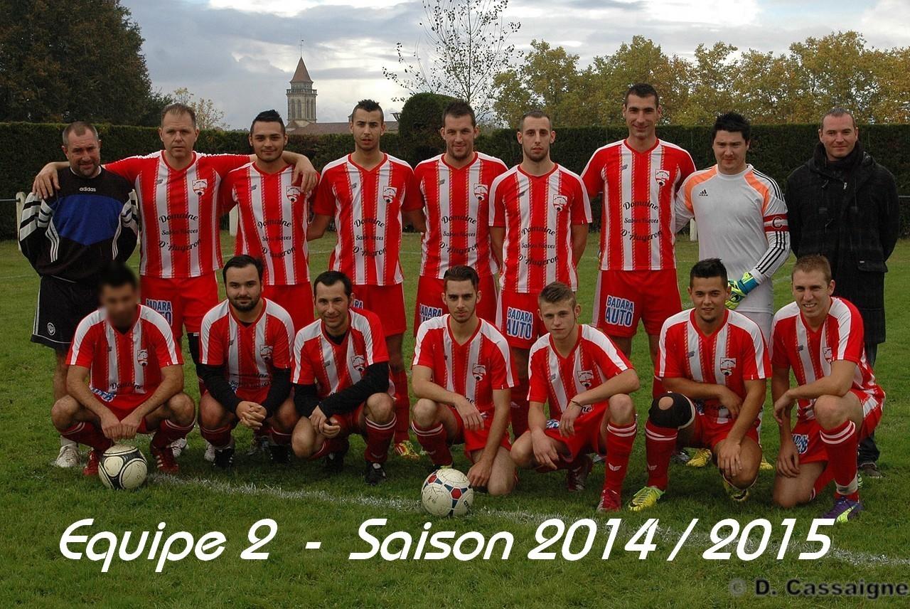 Equipe 2 2014-2015
