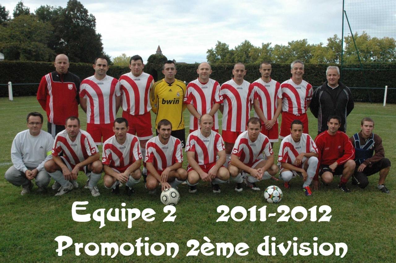 Equipe 2 2011/2012