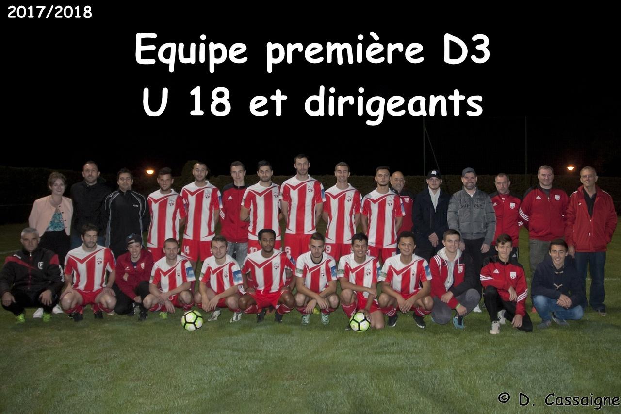 Equipe Première et U 18 2017/2018
