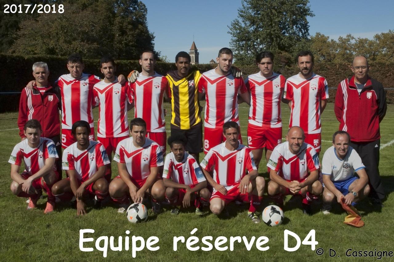 Equipe Réserve 2017/2018