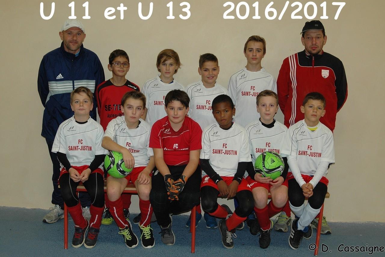 U11 et U13 2016/2017