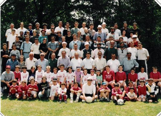 Les 25 ans du FC Saint Justin